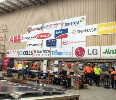 solar training facility in Brisbane