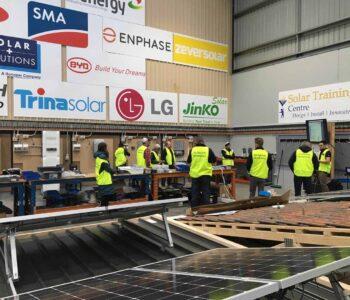 solar panels training course